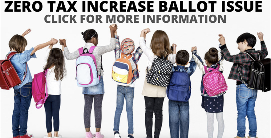 Zero Tax Increase Ballot Issue